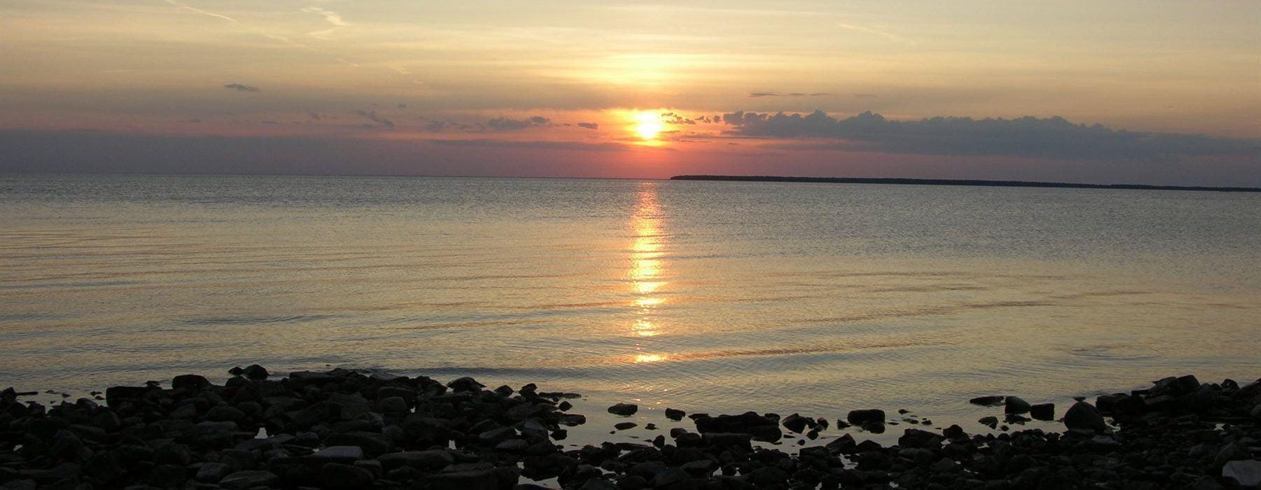 Sunset from Fish Creek Beach